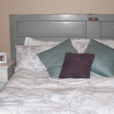 Headboard – Before and After Picture
