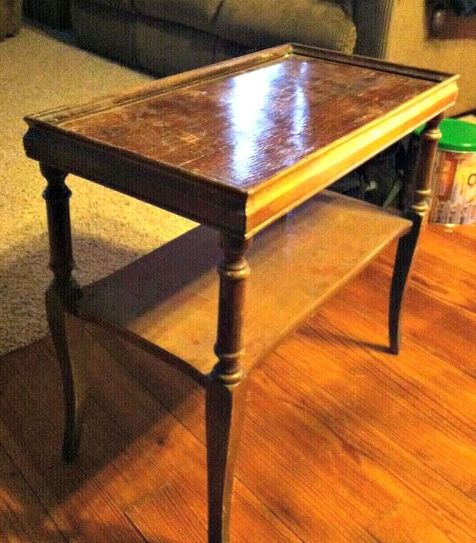 Before side table