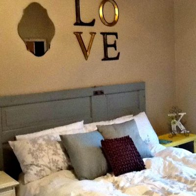 Decorating Above A Headboard