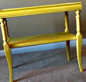Side Table Carolina Sun Yellow