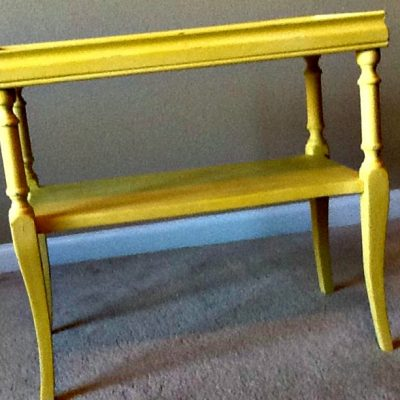 Prepping Painted Furniture