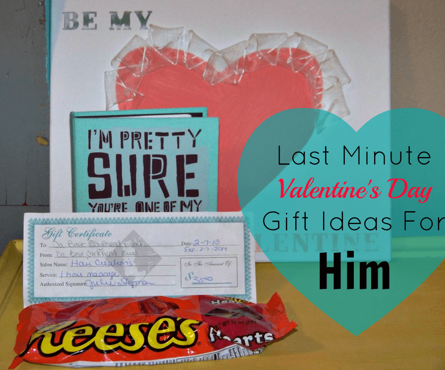 Last Minute Valentines Day Gift Ideas For Him