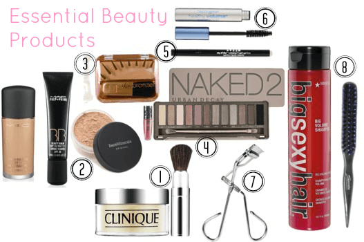 Essential Beauty Products