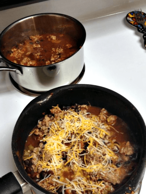 Warm Turkey Chili