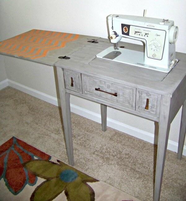 Chevron Sewing Desk