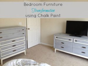 Bedroom Furniture Transformation