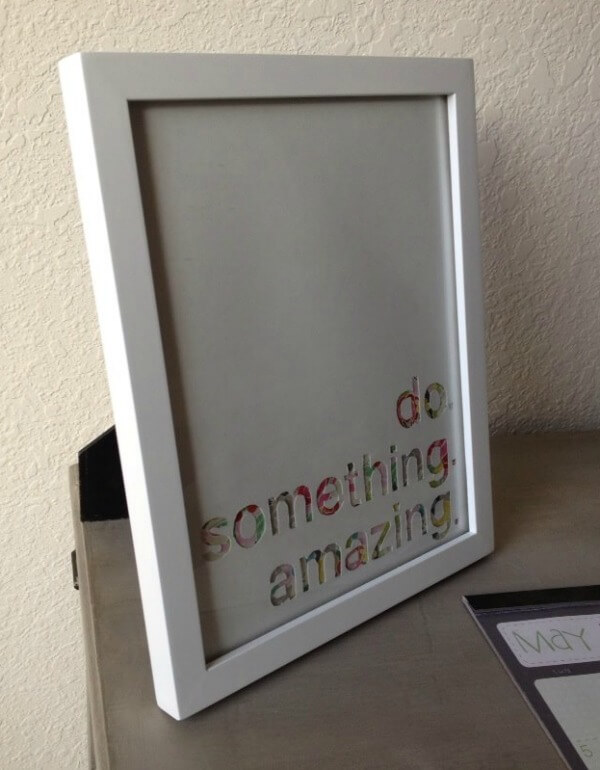 Do Something Amazing Wall Art