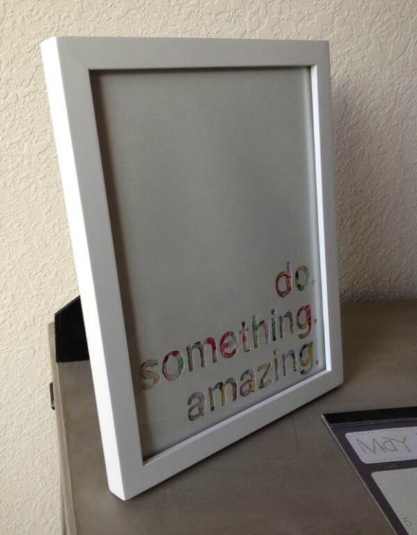 Do Something Amazing Wall Art