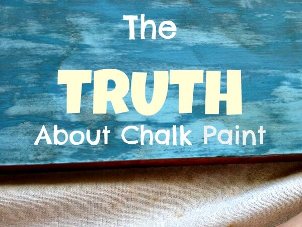 The Truth About Chalk Paint | My Breezy Room