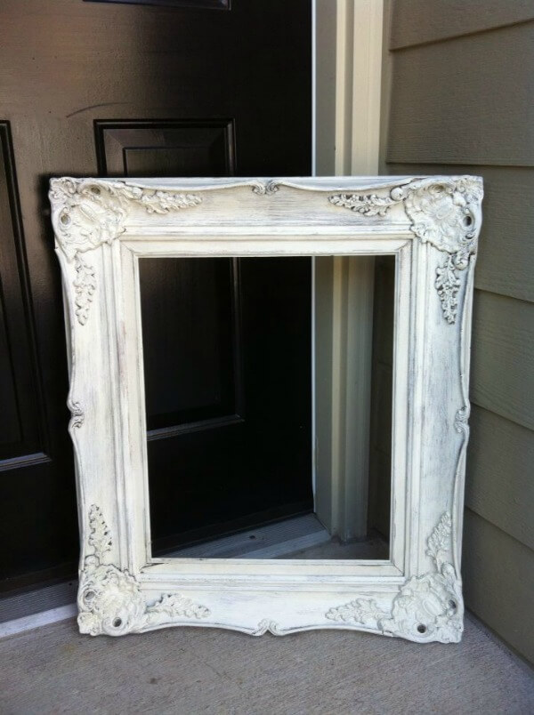 Antique Frame Painted