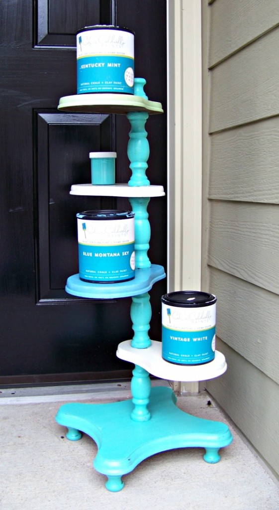 Plant Stand Paint Colors
