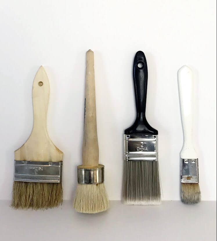 best paint brush for chalk paint a chip brush my breezy room