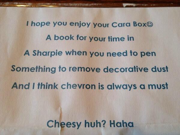Cara Box Note