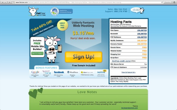 How to start at blog using FatCow hosting