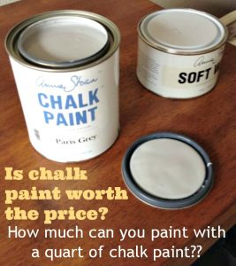 How Much Can You Paint with a Quart of Chalk Paint?