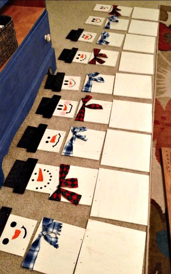 Snowmen Scarves