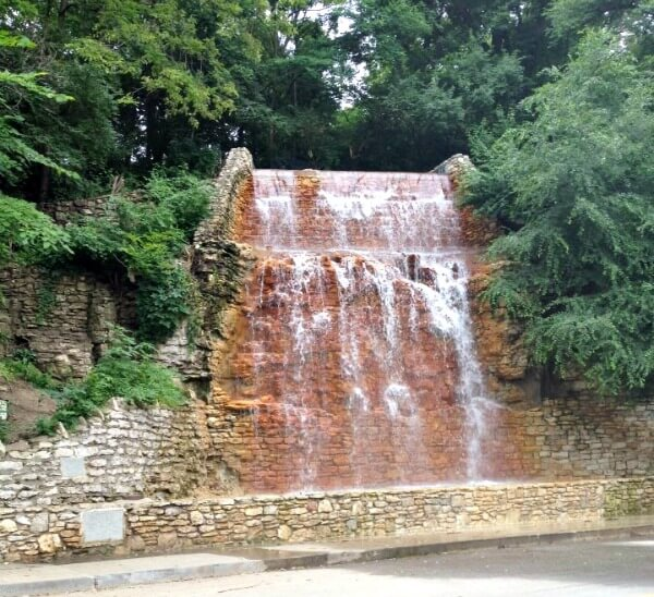 Cliff Drive waterfall