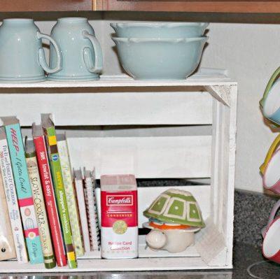 Cookbook Storage Using Crates