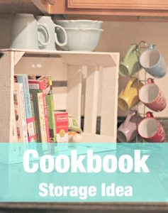 Cookbook Storage Using Crates