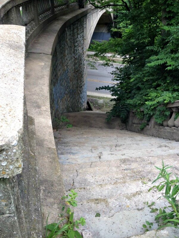 cliff drive bridge