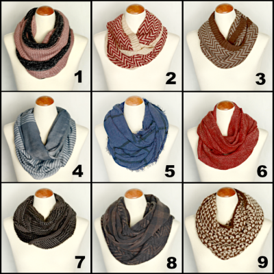 New Arrivals: Warm Cozy Winter Scarves