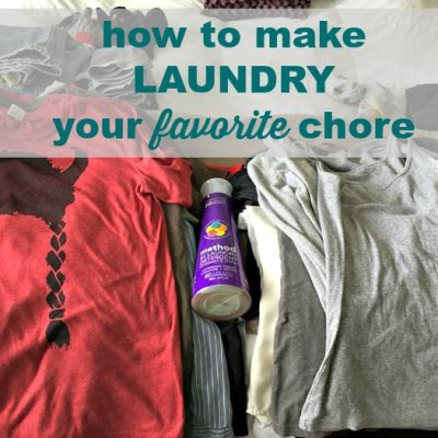 How to Make Laundry Your Favorite Chore
