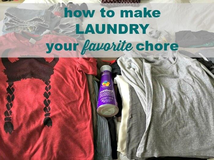 method laundry detergent