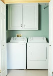 How to Make Your Laundry Closet Feel Like A Laundry Room