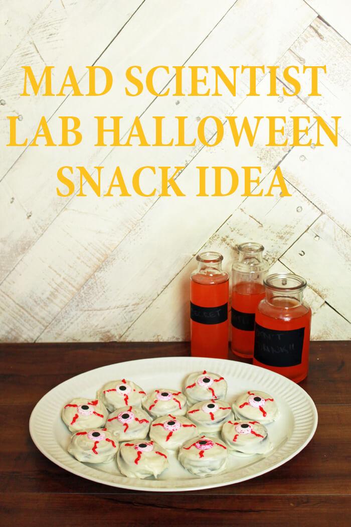 mad scientist lab snack idea