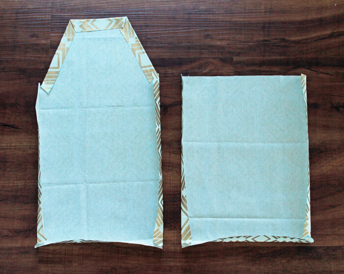 DIY Diaper Bag Step 2