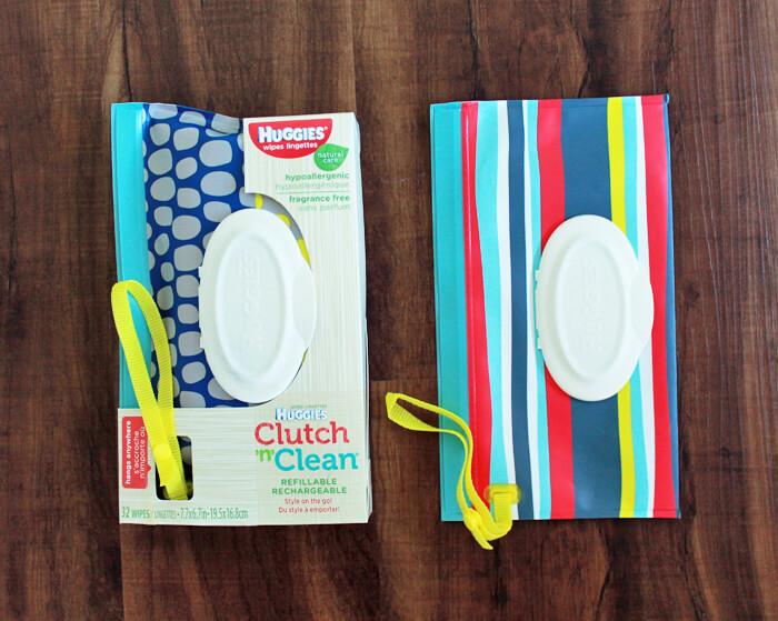 huggies clutch n clean wipes