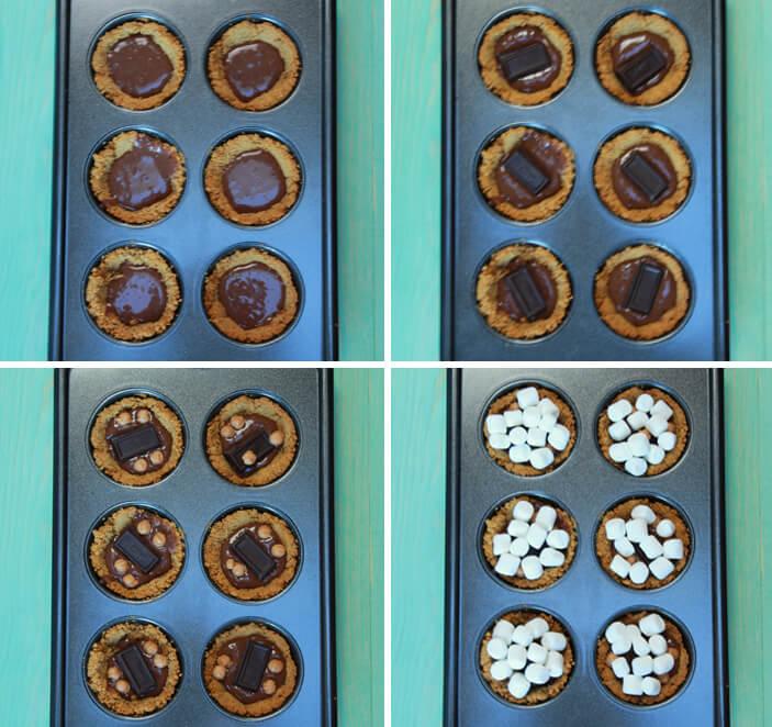 smores cakes
