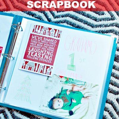 Establishing Christmas Traditions: Holiday Scrapbook
