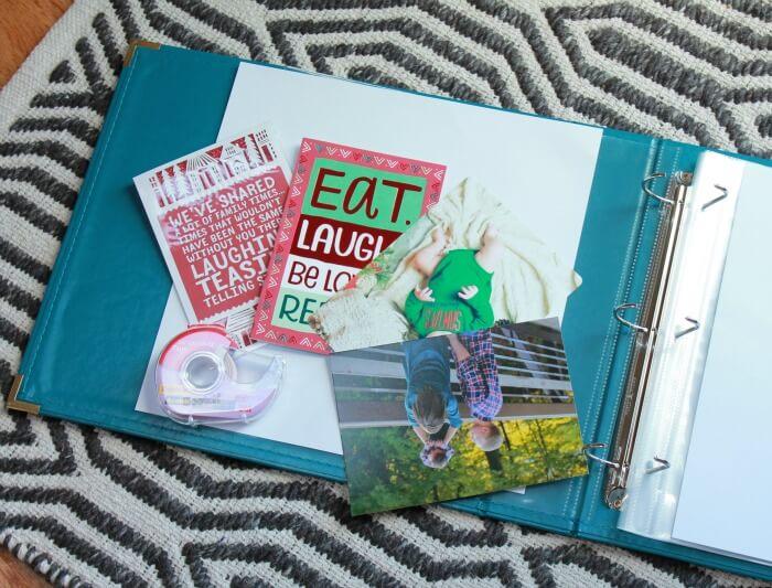 holiday scrapbook supplies