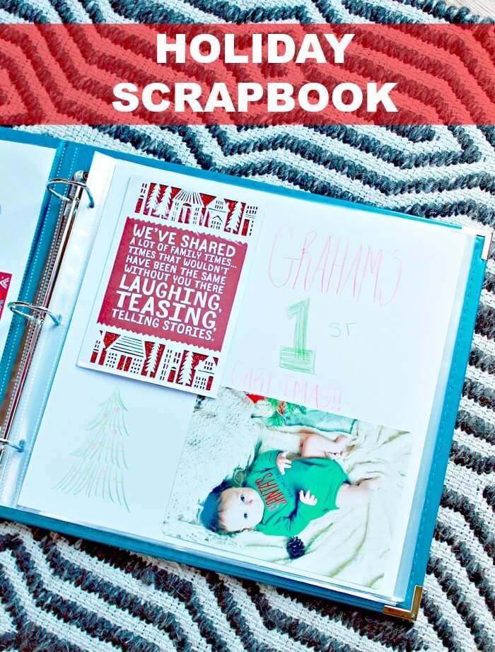 holiday scrapbook