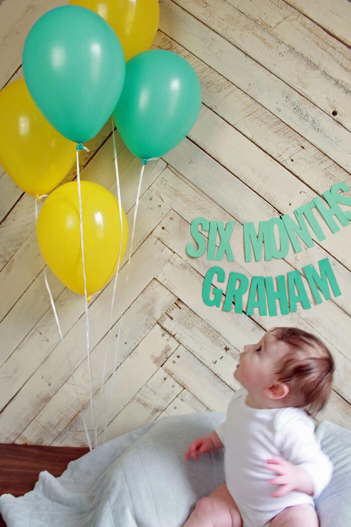 Graham 6 mo looking
