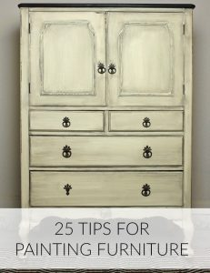 25 Tips for Painting Furniture
