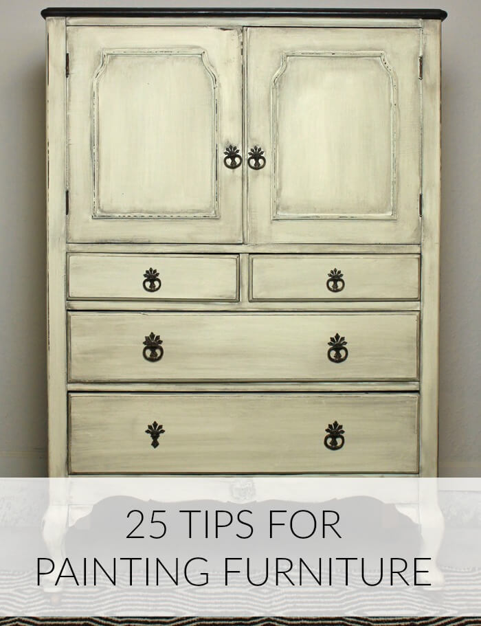 25 Furniture Painting Tips: Time Savers and Painting Hacks