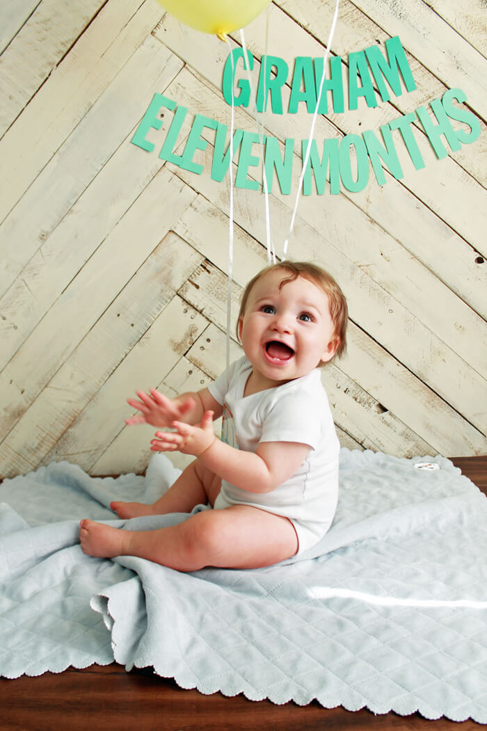 11 months clapping