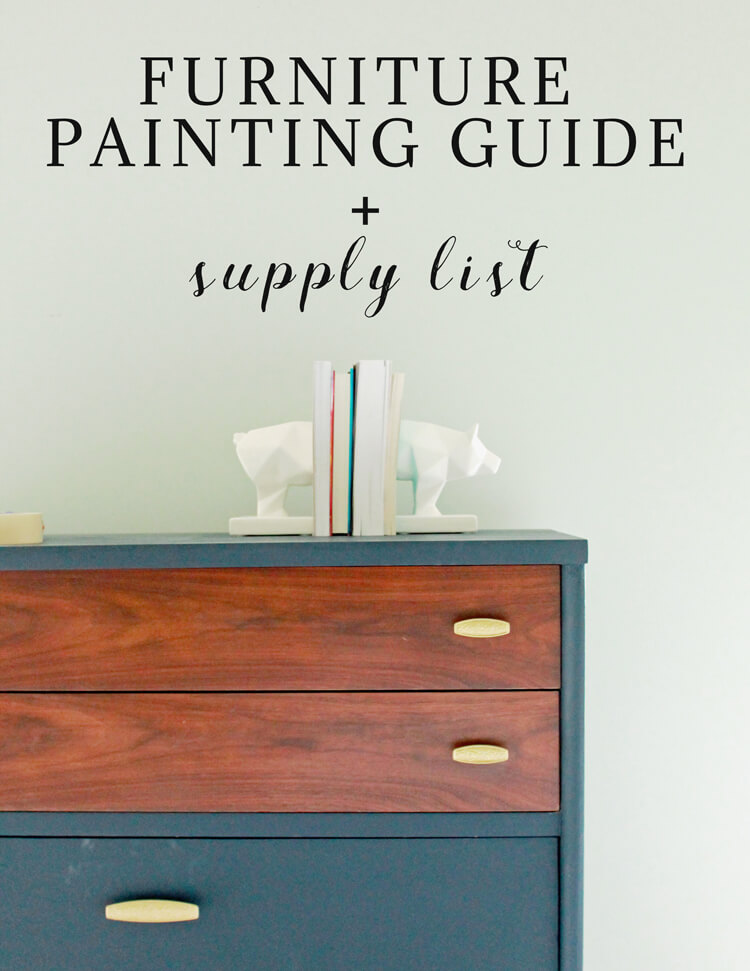 Furniture Painting Guide | My Breezy Room