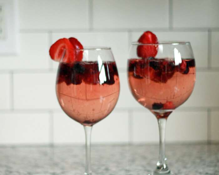 summer time sangria