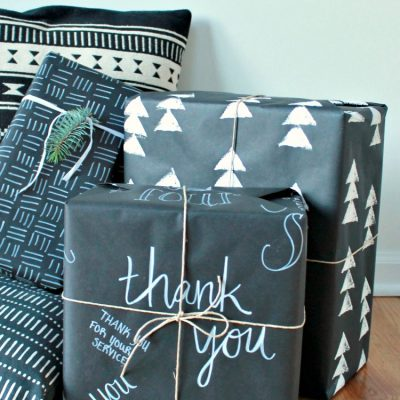 DIY Wrapping Paper | My Breezy Room