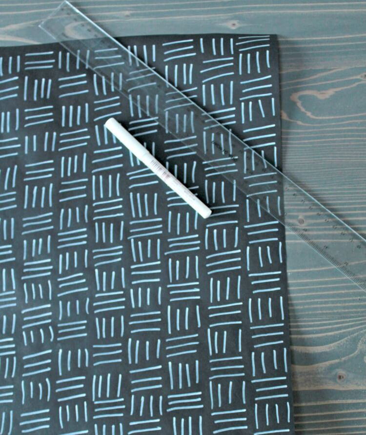 Diy Wrapping Paper Modern Holiday Wrapping Paper