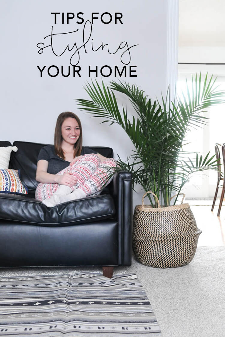Tips for Styling Your Home | My Breezy Room