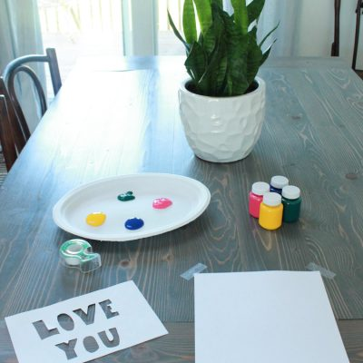 DIY Mothers Day Gift From Kid