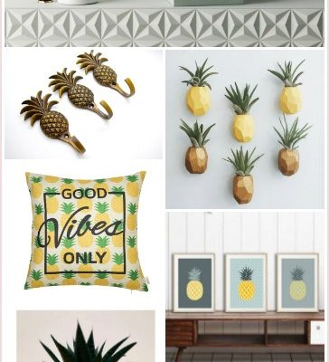 Adding Pineapples to Your Home Decor