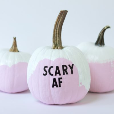 Ironic Modern Pumpkin DIY