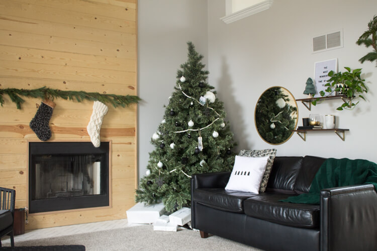 I Really Only Decorated Two Rooms Of Our Home For Christmas Wanted To Keep It Natural And Simple Have A Goal Keeping My Decor Just