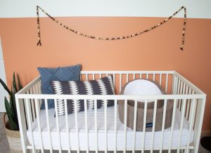 Gender Neutral Nursery: Modern Color Block Room