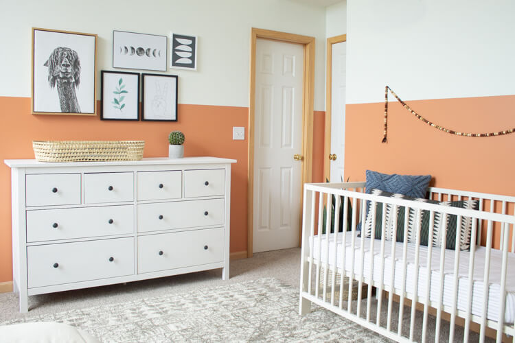 Gender Neutral Nursery Modern Color